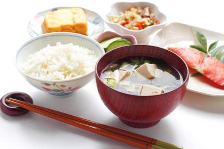 30755458 - typical japanese breakfast image