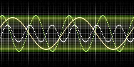 5873996 - an illustration of a nice sound wave graphic